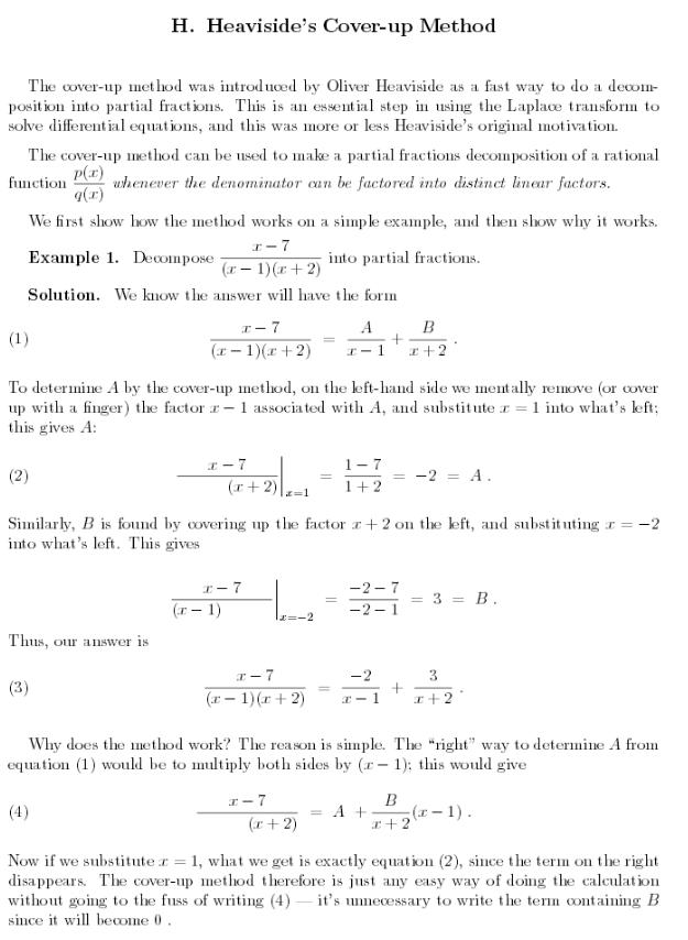 heavsi  coverup math complex