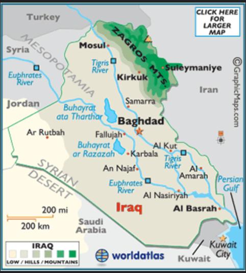 iraq tiger tigrus river baghdad