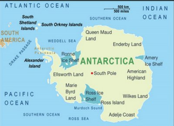 south pole antartica ross